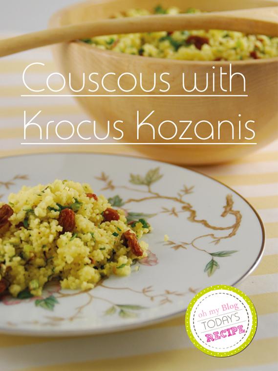 Krokus Kozanis & Plate